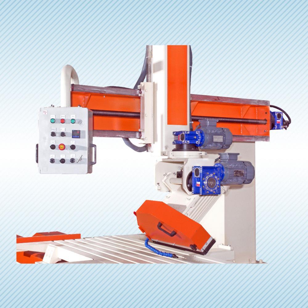 SCHIND 16401-3 NPU - FULLY AUTOMATIC - METAL WAGON - Marble, Stone and Granite Cutting Machine