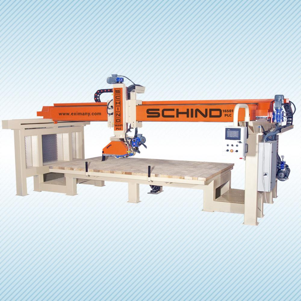 SCHIND 16501 PLC - Bridge - Marble, Stone and Granite Cutting Machine