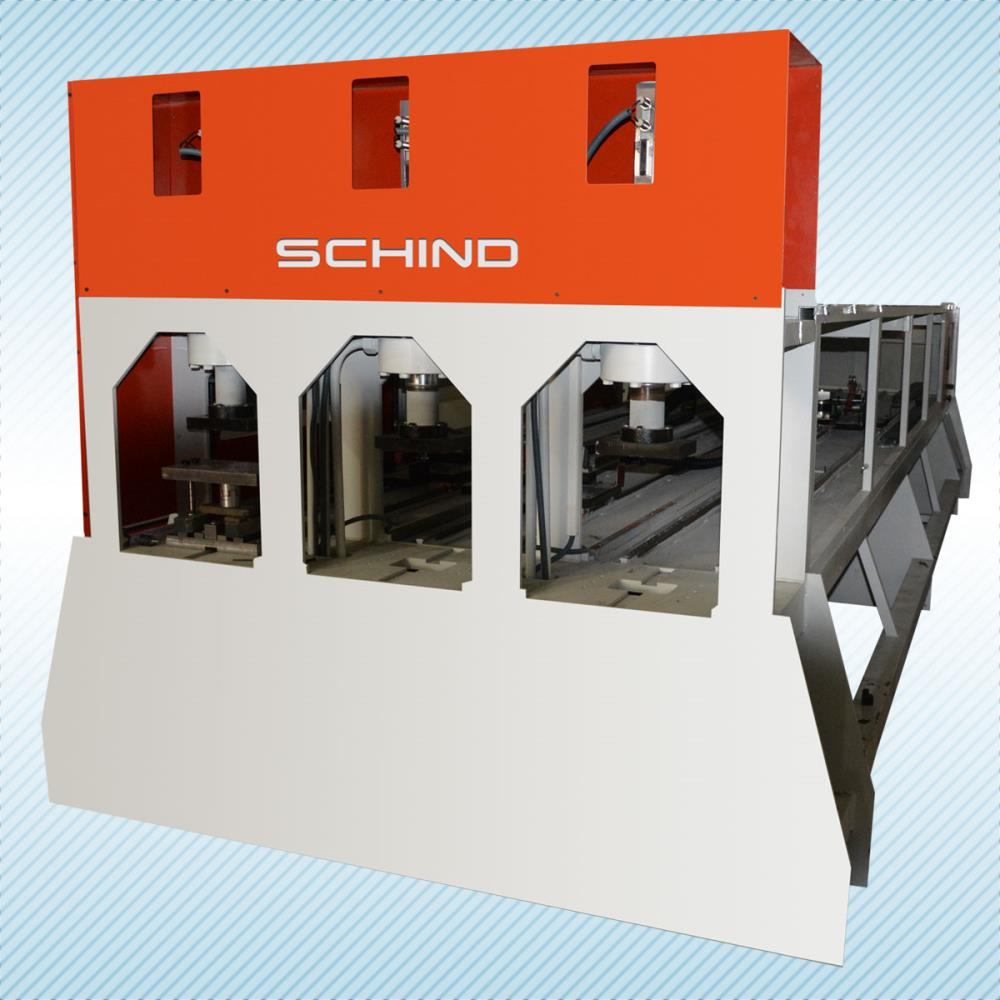 SCHIND Profile Punching Machine (3 Head)