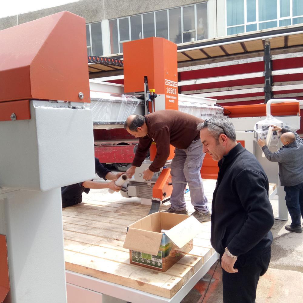 SCHIND 16502 PLC - Bridge - Marble, Stone and Granite Cutting Machine