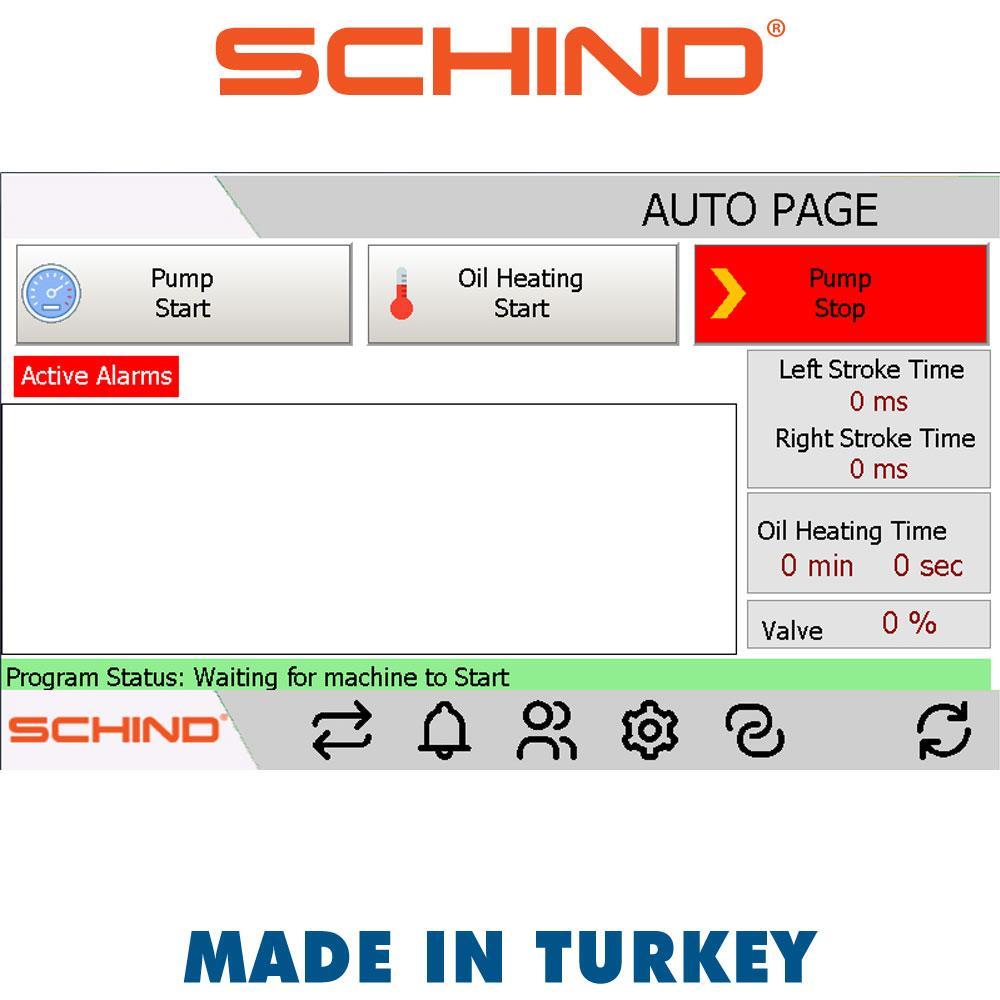 Schind CNC Waterjet Bridge Type Cutting Machine