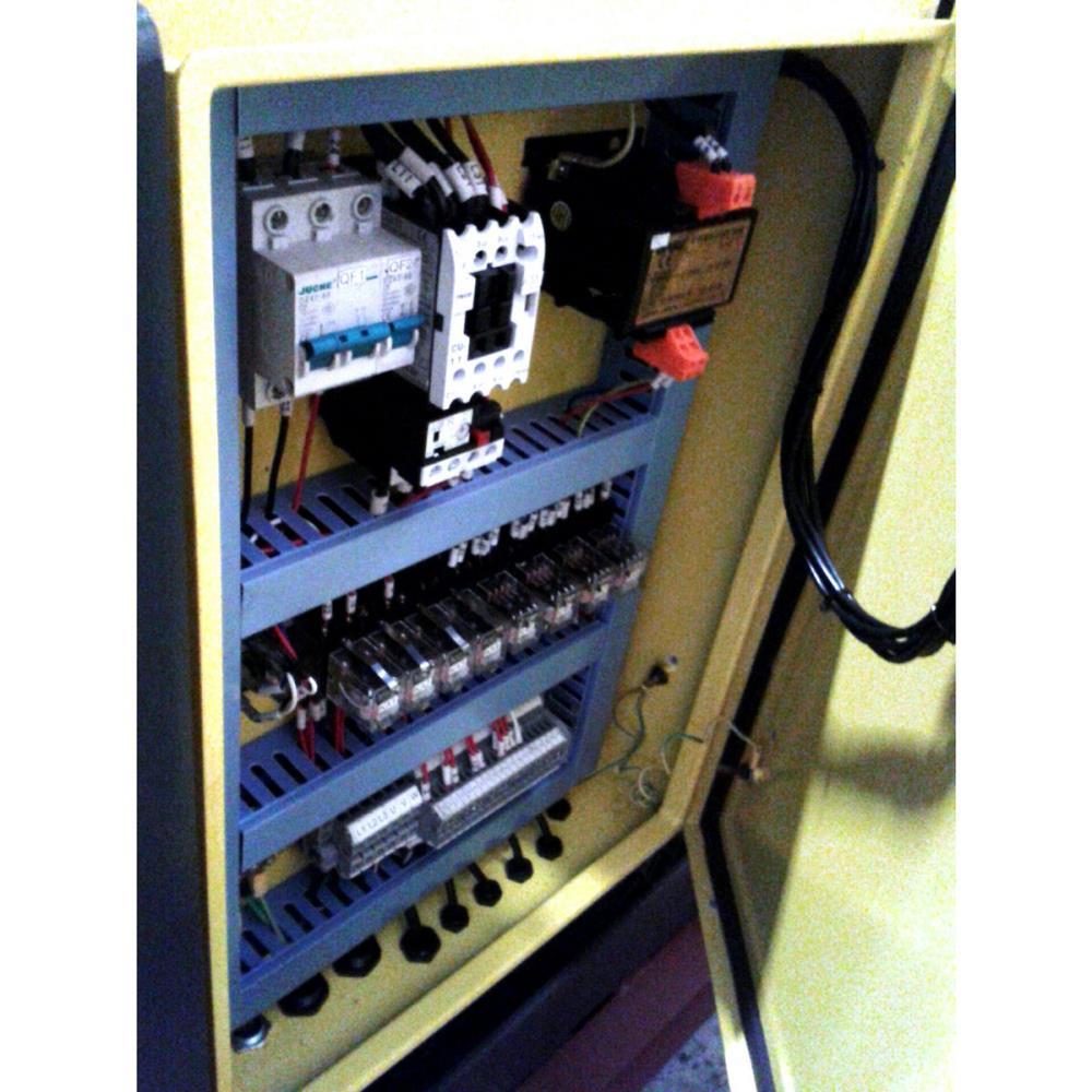 AHCF Hydraulic Heavy Duty Segmented Shoe Type Blades Box and Pan Folder