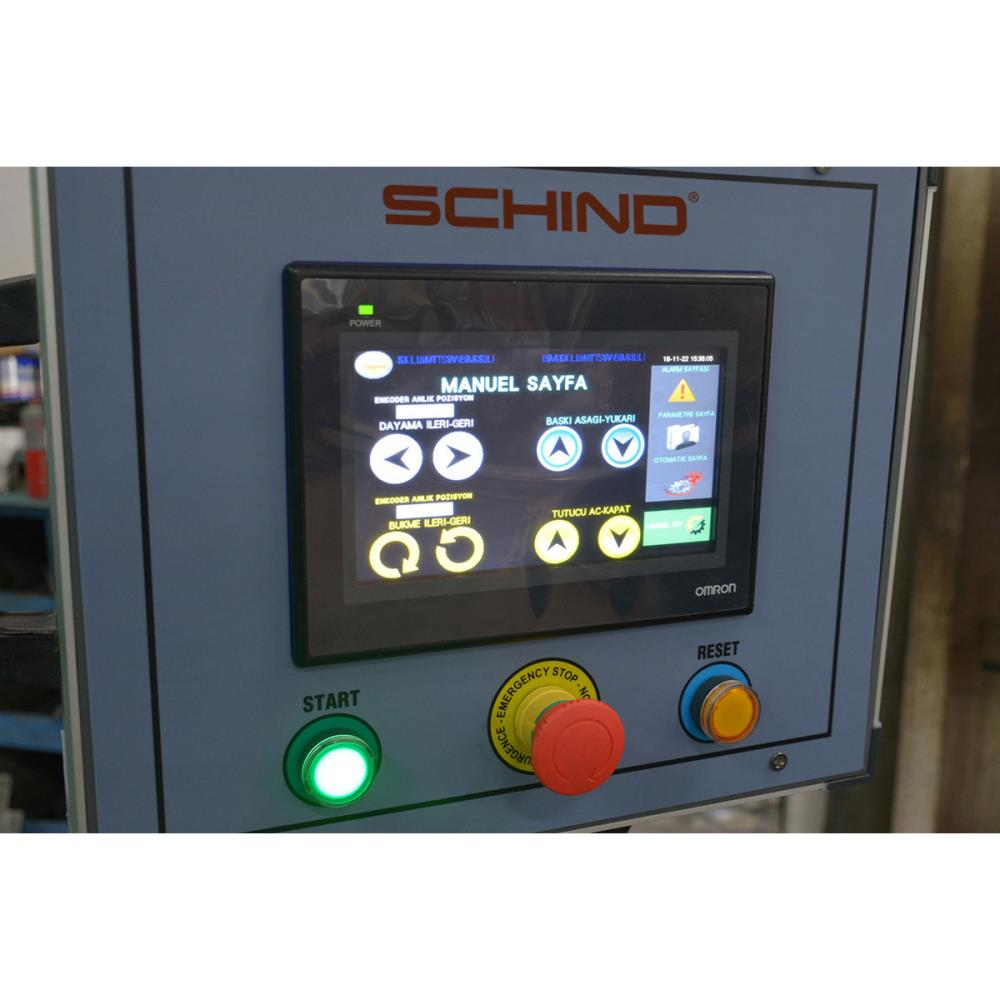 Schind CKF-H NC Hydraulic Automated Box and Pan Folder