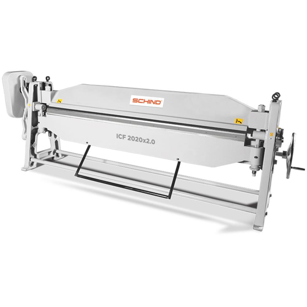 SCHIND ICF 2020x2,0mm Cast Iron Frame Heavy Duty Single Blade Manual Folding Machines