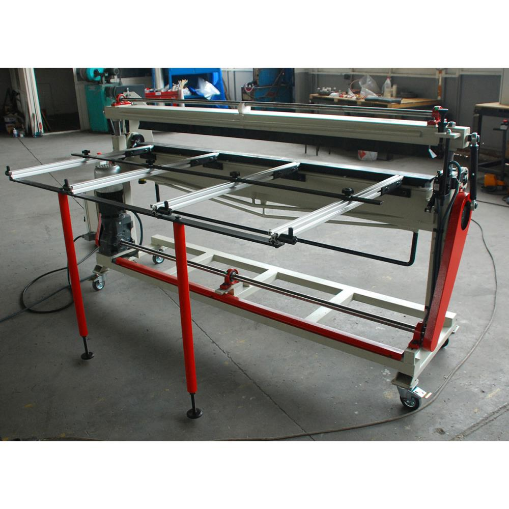 SCHIND AFF-M Motorized Vertical Top-Bottom Segmented Blades Box and Pan Folders