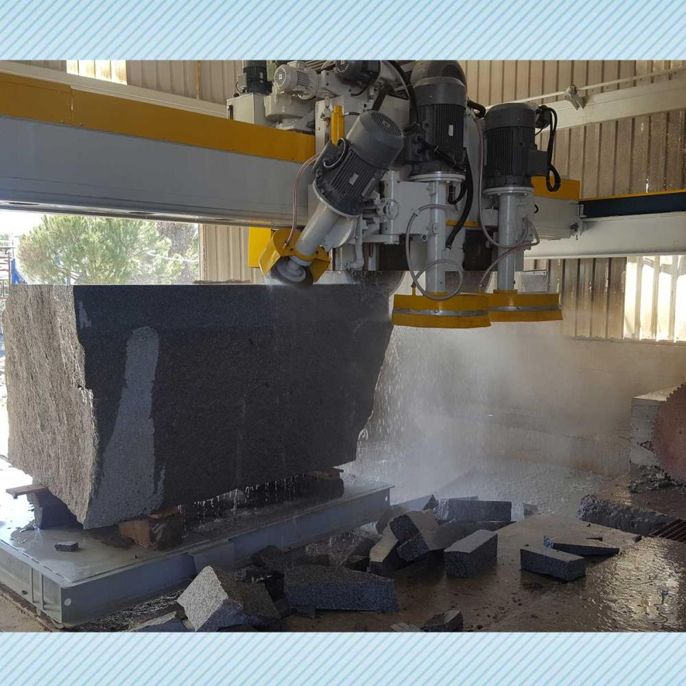 SCHIND ST-P 1800 - PLC- Marble, Stone and Granite Block Cutting Machine