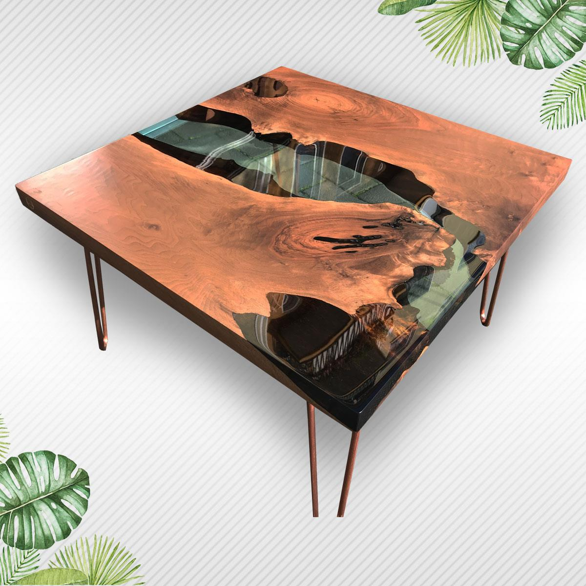 live edge wood coffee table eximany