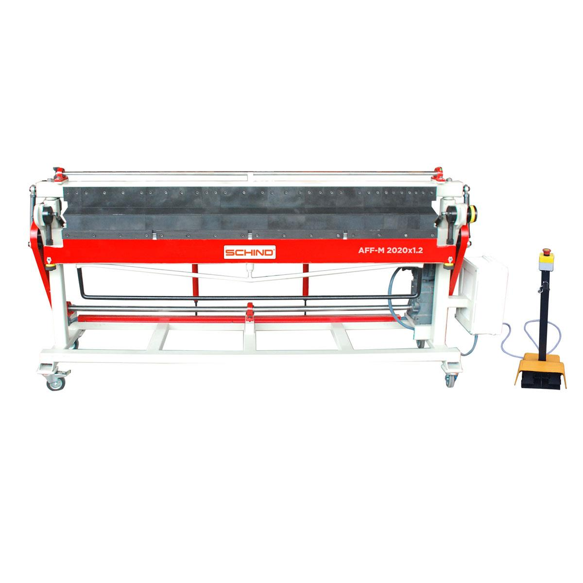 SCHIND AFF-M Motorized Vertical Top-Bottom Segmented Blades Box and