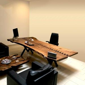 Natural Wood Study Table