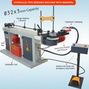 Mandrel Pipe and Tube Bending Machine HPB -32 Ø - Semi Automatic - Hydraulic
