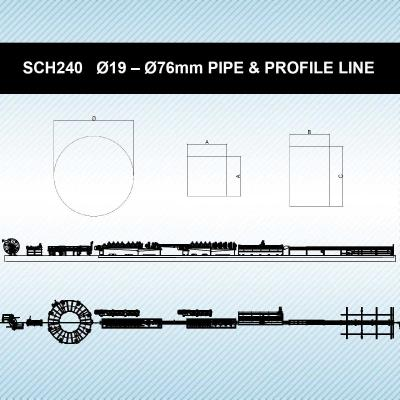SCH240   Ø19 – Ø76mm PIPE & PROFILE PRODUCTION LINE