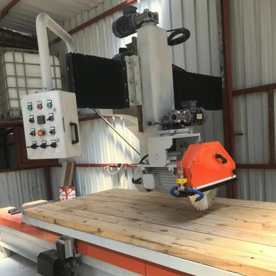 SCHIND 16401-4 NPU - Fully Automatic - Wooden Wagon - Marble, Granite and Natural Stone Cutting Machine