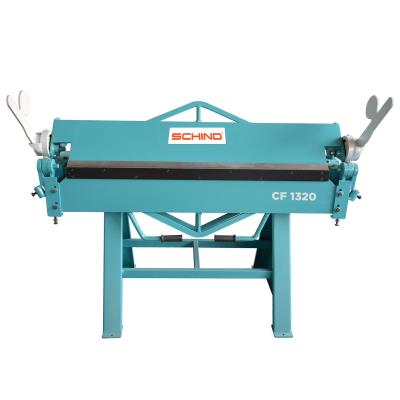 SCHIND CF 1320x1,2mm Single Blade Manual Folding Machine – HVAC Type