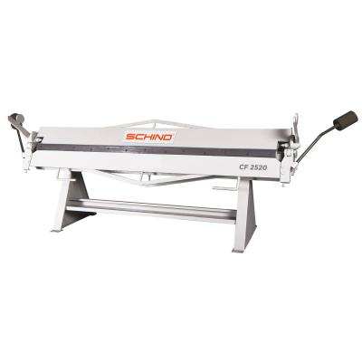 SCHIND CF 2520x1,2mm Single Blade Manual Folding Machine – HVAC Type