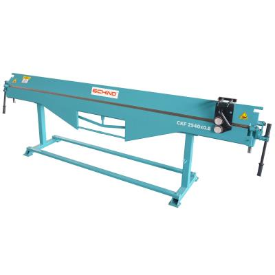 SCHIND CKF-2540x0,8mm Roofers Type Folding Machines – with Shearing device