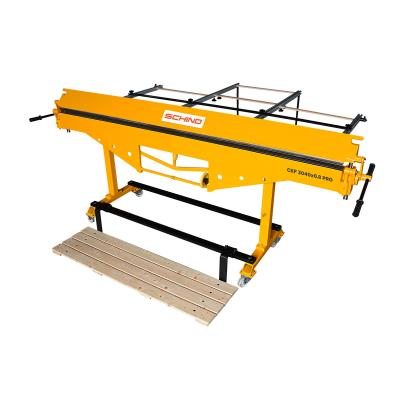 SCHIND CKF-PRO 3040x0,8mm Roofers Type Manual Single Blade Folding Machines – with Shearing device
