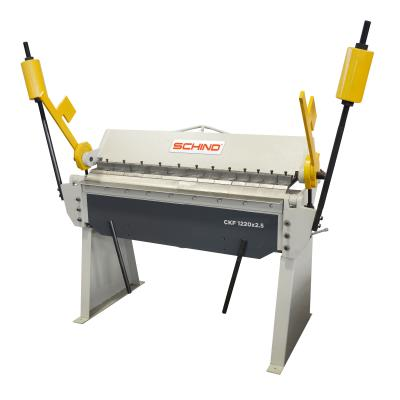 SCHIND CKf-T 1220x2,5MM HEAVY DUTY SHOE TYPE SEGMENTED BLADES MANUAL FOLDING MACHINES
