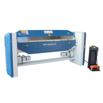 Schind CPF 2020×1,5mm Electric Powered Box and Pan Folder