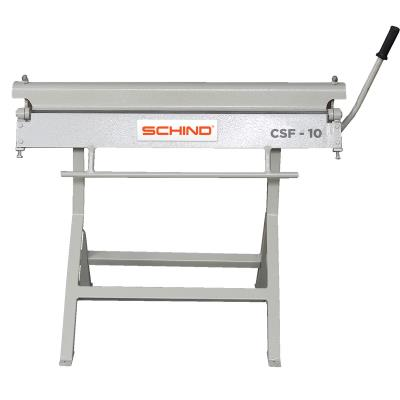 SCHIND CSF-10 (1000x0,8 mm) Single Blade Desktop Type Manual Folding Machine