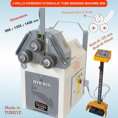 Hidrolik Profil ve Boru Kıvırma Makinesi HTB Ø50