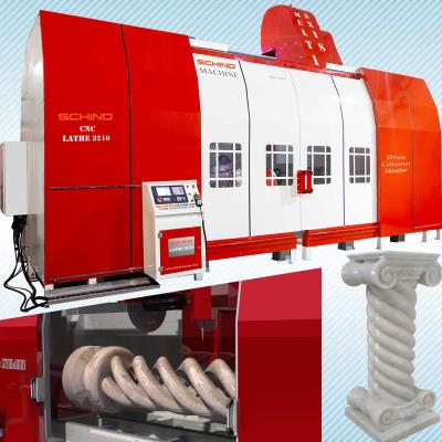 Schind CNC 3200 X 1000 - Marble Column Lathe Machine (Multi Axis)